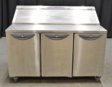 Williams 3 Door Refrigerated Preparation Counter