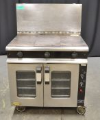 Moorwood Vulcan MLE90CR M Line Convection Oven - 400v