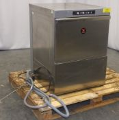 Sammic PB-50 Pro Line front loading Dishwasher