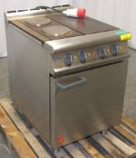 Falcon E3161 Dominator Plus - Electric 3 Hotplate Range Oven - 400v