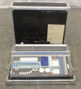 Avolite Pearl Tiger Light Controller Desk in flight case