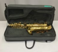 Yanagisawa Saxophone in case - Serial Number - 991 00300018 (Incomplete)