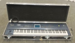 Korg Triton Extreme Keyboard/Synthesiser in flight case - L1510 x D490 x H230mm