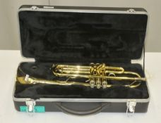 Bach TR300 Trumpet in case - Serial Number - E69540