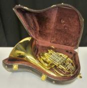 Gebr Alexander Mainz Mod 103 French Horn in case - Serial Number - 17510.