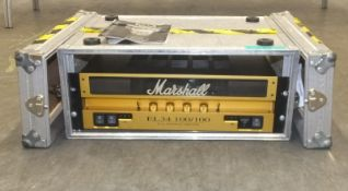 Marshall EL34 100/100 Dual Monobloc Amplifier in flight case