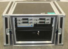 4x Sennheiser True Diversity Recievers, 1x Sennheiser Antenna Splitter ASA 1 with 2x Sennheiser A 10
