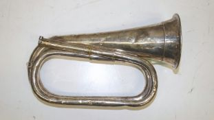 McQueens Bugle - Serial Number - 938 (lining clamp damaged and dents in bugle)