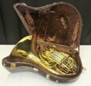 Gebr Alexander Mainz Mod 103 French Horn in case - Serial Number - 18408.