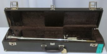 Besson International Fanfare Trumpet in case - Serial Number - 706 - 768541