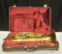 Besson Sovereign BE967 Euphonium - Serial Number - 845101.