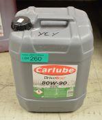 20L Carlube Driveline 80W-90 Axle Oil