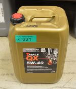20L Triple QX SynPlus PD 5W-40 Motor Oil