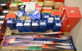 EGR Valves, Wiper Blades - See photos for part numbers