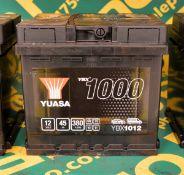 Yuasa YBX1012 12V 45Ah 380A Battery