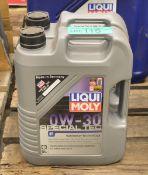 2x 5L Liqui Moly 0W-30 Special Tec Motor Oil