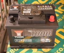 Yuasa YBX1075 12V 56Ah 510A Battery