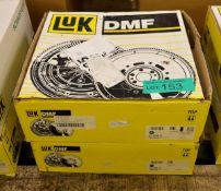 LUK Dual Mass Flywheels 415 0493 10, 415 0396 10 - Citroen, Peugeot