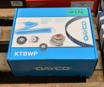 Dayco Timing Belt Kit with Water Pump KTBWP3230 - Citroen C3 1.4HDi