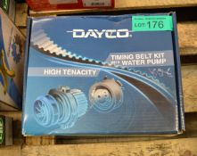 Dayco Timing Belt Kit with Water Pump KTBWP3470 - VW, Skoda, Seat