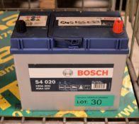 Bosch S4 020 12V 45Ah 330A Battery