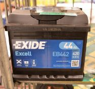 Exide Excell EB442 12V 44Ah 420A Battery