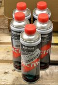5x Cans Forton Vactek Combustion Chamber Cleaner