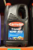 2x 5L Carlube TripleT 10W-40 UHPD E6/E9 Motor Oil