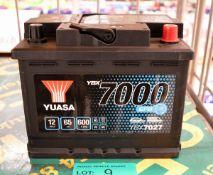 Yuasa YBX7027 12V 65Ah 600A Battery