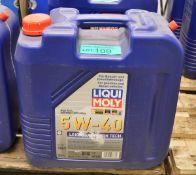 20L Liqui Moly 5W-40 Leichtlauf High Tech Motor Oil