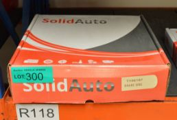 Solid Auto Brake Disc T106187