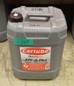 20L Carlube Driveline ATF-Q Plus Automatic Transmission Fluid