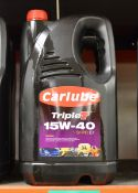 2x 5L Carlube TripleT 15W-40 SHPD E7 Motor Oil
