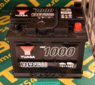Yuasa YBX1027 12V 56Ah 510A Battery