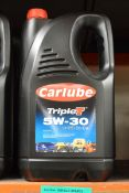 5L Carlube TripleT 5W-30 UHPD E6/E9 Motor Oil