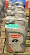 4x 5L Carlube R-Tec 31 10W-40 Semi Synthetic Motor Oil