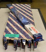 7x Bosch Twin Wiper Blades 455