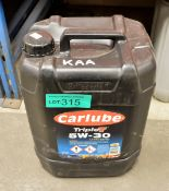 20L Carlube TripleT 5W-30 UHPD E6/E9 Motor Oil