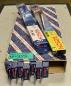 9x Bosch Wiper Blades H 407