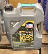 5L Liqui Moly 5W-40 Top Tec 4100 Motor Oil - Dented can