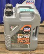 2x 5L Liqui Moly 5W-30 Top Tec 4200 Motor Oil