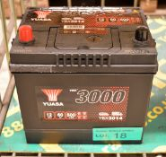 Yuasa YBX3014 12V 60Ah 500A Battery