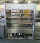 Refrigeration display cabinet - 1650mm x 760mm x 2060mm