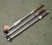 3x Norbar SL3 Torque Wrenches 45-250 ibf ft