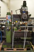 Fredk Pollard & Co Ltd Corona 360 universal milling machine - serial 27928A