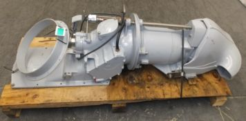 Hamilton 241 Marine Water Jet Engine - Very clean unit looks to have done very low hours t