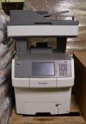 Lexmark X748de office printer