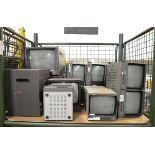 15x CRT CCTV monitors