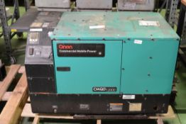 Onan CMQD 12000 Commercial Mobile generator - 12HDCAD - 12KVA - 60hz - 120V / 240V