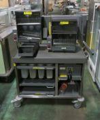 Ultracart Breakfast Bar Caddy Unit Trolley